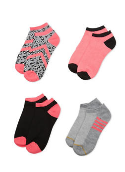 4-Pack of Ankle Socks - PINK - 1143041454016