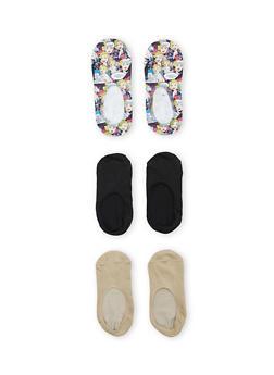 Assorted No Show Liner Socks - 1143068061112