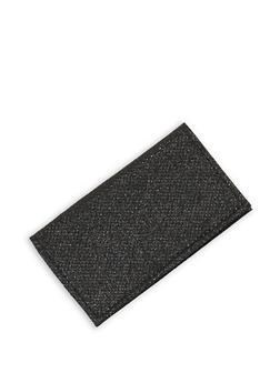 Glitter Knit Card Wallet - 1163018436053