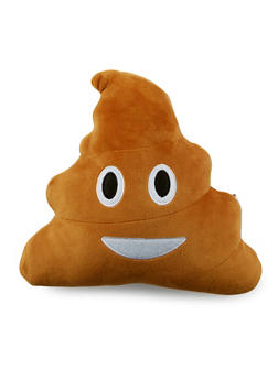 Poop Emoji Pillow - 1163067440783