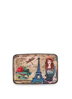 Eiffel Tower Graphic Card Wallet - 1163067441083