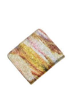 Mini Foil Printed Bifold Wallet - 1163067443417