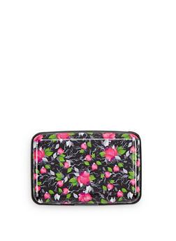 Floral Card Wallet - 1163067444181