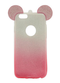 Glitter Mouse Ear Phone Case - 1163067447021