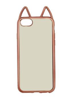 Metallic Cat Ear Phone Case - 1163067447022