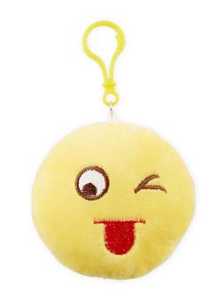 Silly Face Emoji Keychain - 1163067447810