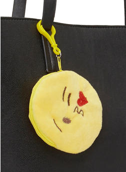 Kiss Emoji Coin Purse Keychain - 1163067447901