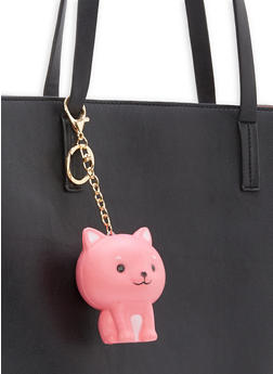 Squishy Keychain - PINK/CAT - 1163067448007