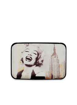 Card Holder Wallet with Marilyn Monroe Graphic - 1163067449026
