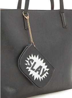 Keychain Pouch with Slay Print - 1163070571400