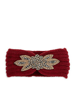 Beaded Applique Headband - 1183042746060