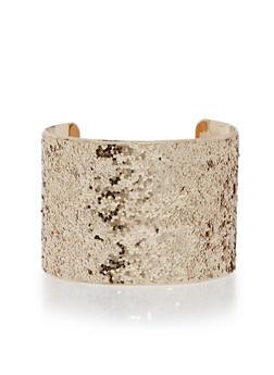 Glitter Cuff Bracelet - 1193018437112