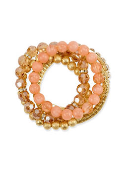 Set of 5 Stretch Bracelets - 1193035153367