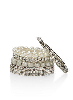 Set of 7 Assorted Bangles - 1193035155973