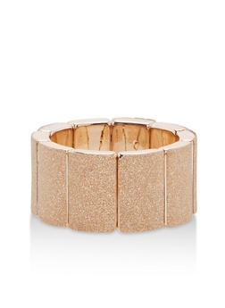Metallic Glitter Stretch Bracelet - 1193062814504