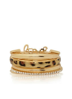 Set of 6 Assorted Bangles - 1194062815316