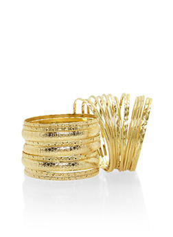 Set of 24 Assorted Bangles - 1194062924468