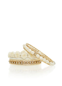 Set of 9 Assorted Bangles - 1194072694721