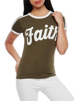 Faith Graphic T Shirt - 1302033876991