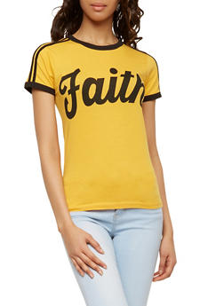 Faith Graphic T Shirt - 1302033876991