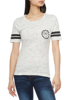 Marled NYC Graphic Varsity T Shirt - 1302033878272