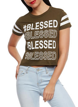 Blessed Graphic T Shirt - 1302033878476