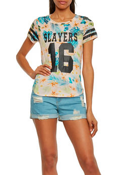 Tropical Slayers 16 Graphic Short Sleeve T Shirt - 1302058756770