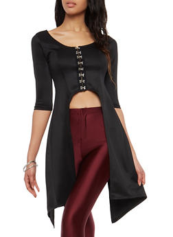 Lace Up Back Maxi Top - 1303074290235