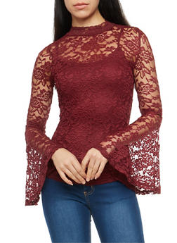 Cami Lined Lace Top - 1304015995547