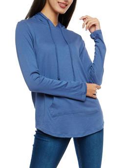 Long Sleeve Hooded Sweatshirt - 1304054269796