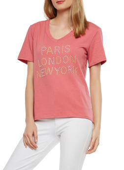 City Studded T Shirt - 1305074290431
