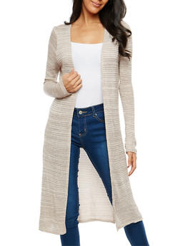 Open Front Thermal Duster - 1308058750447