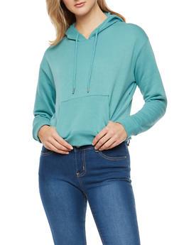 Hooded Fleece Sweatshirt - 1402054211272