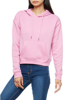 Hooded Fleece Sweatshirt - 1402054211272