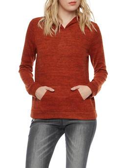 Plush Knit Hoodie - 1402054211655