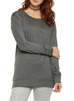 Tunic Sweatshirt - 1402061359733