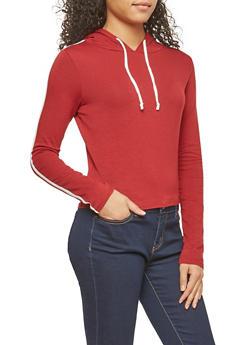 Varsity Stripe Hoodie - 1402066491218