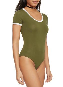 Short Sleeve Bodysuit - 1402066491931