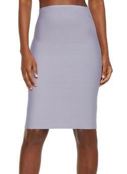Midi Pencil Skirt - 1406068190072
