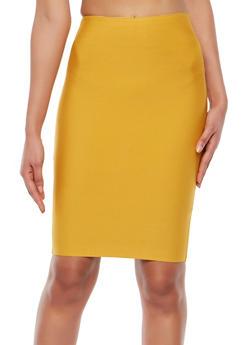 Bandage Pencil Skirt - 1406068191772