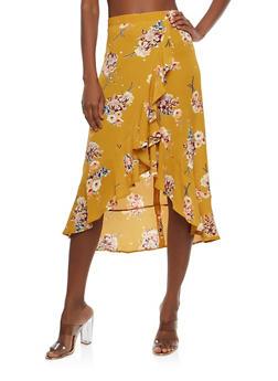 Flowered Skirt
