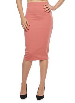 Ponte Pencil Skirt - 1406069392009