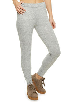 Marled Knit Joggers - 1407061352230