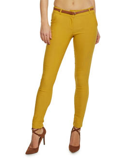 Casual Pant with Belt - 1407062701551