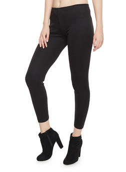 Leggings with Elastic Waistband - 1407062708003
