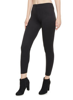 Leggings with Elastic Waistband - 1407062709003
