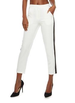 Side Stripe Pants - 1407068193573
