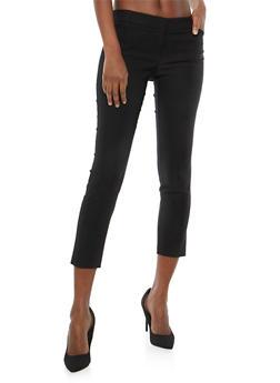 Cropped Dress Pants - 1407068513515