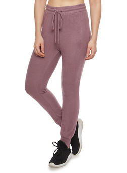 Soft Knit Joggers - 1407069396928