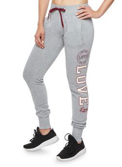 Joggers with Love Graphics - 1407072290182